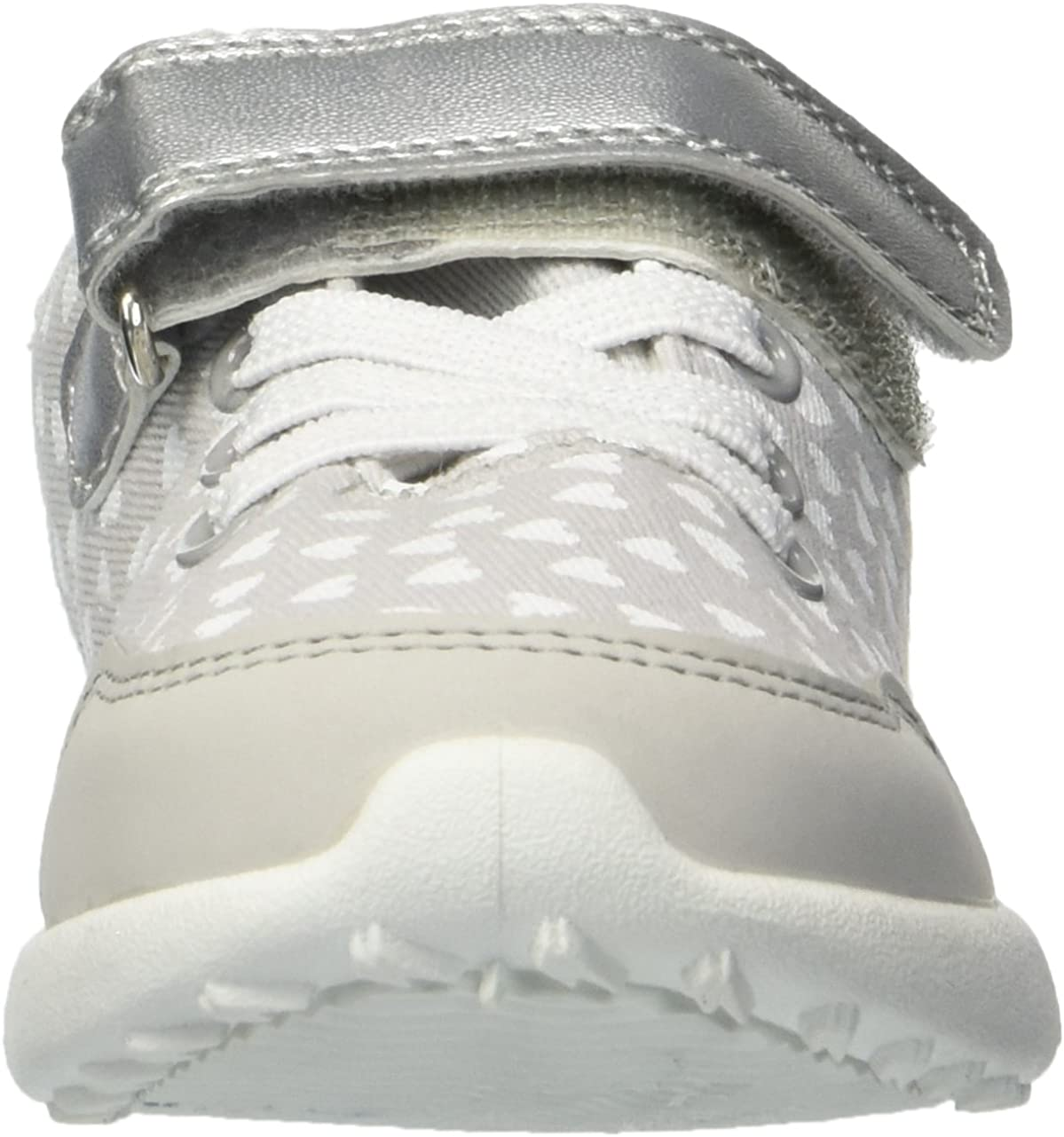 Carters Kids Girls Burst2-g Grey Casual Sneaker