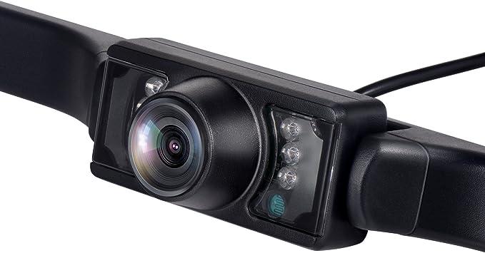 Vehicle License Plate Parking Sensor Backup Camera Vehicle Universal Reversing Assist Security 170/° View Angle Universal IP67 Waterproof Car License Plate Frame Camera