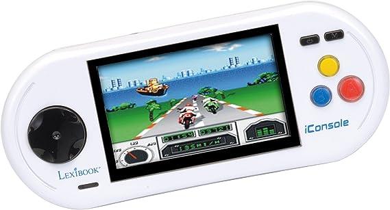 Amazon.es: LEXIBOOK - Consola TV, 55 Juegos, Video, Foto, música (JL5000)