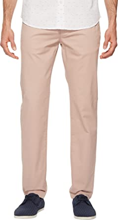 1312cd21b Amazon.com  Ted Baker Men s Procor Solid Chino Pants Dusky Pink 28 R   Clothing