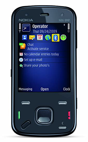 Amazon com: Nokia N86 Unlocked Phone with 8 MP Camera, Auto