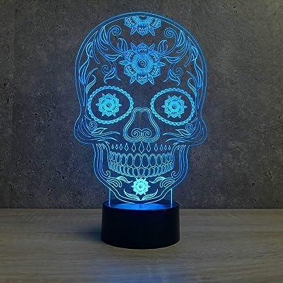 lampe tête de mort 4