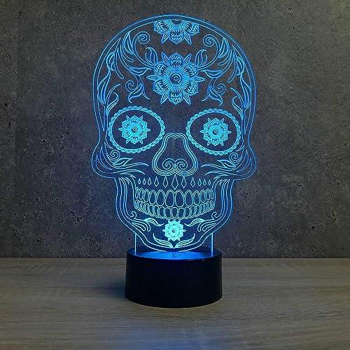 lampe tête de mort 3