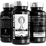 Activated Charcoal Capsules (Fast Acting) for Gas, Bloating, Detox, Toxin Removal and Indigestion, 150 Capsules (300mg) of 100% Pure High Strength Active Carbon, Easy Swallow Supplement Caps from Coconut Shells for Diarrhoea, Flatulence, Heartburn, Skin Spots and Teeth Whitening, Suitable for Vegans and Vegetarians from Trusted UK Seller