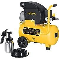 Pretul COMP-KIT20P Kit de compresor 20 litros, manguera PVC y pistola, Pretul, color, pack of/paquete de 1