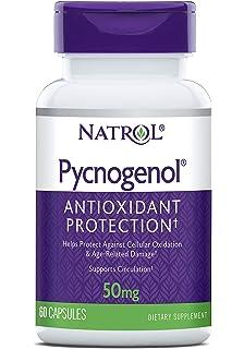 Natrol Pycnogenol 50mg Capsules, 60-Count by Natrol
