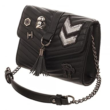 Amazon.com: Dark Side Quilted Crossbody Bag With Tassel: Clothing : quilted crossbody - Adamdwight.com
