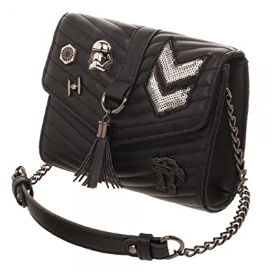 Dark Side Quilted Crossbody Bag With Tassel Handbags Amazon