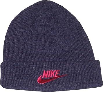 Nike Children s Hat Wool Knit Hat Beanie Hat Purple Medium Large Child  Unisex  Amazon.co.uk  Sports   Outdoors f54925f296b
