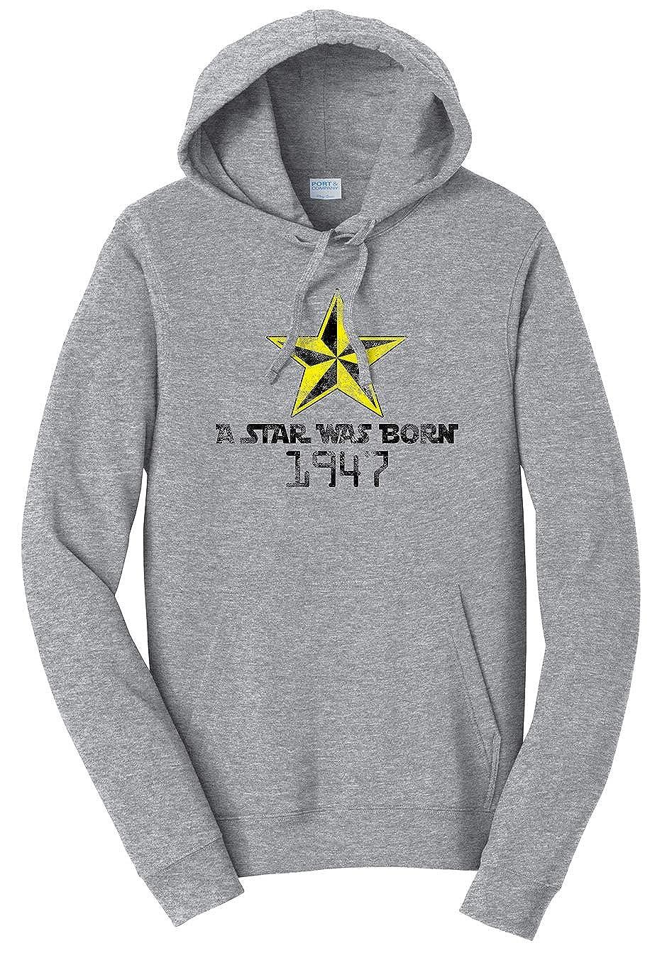 Tenacitee Unisex A Star was Born 1947 Sweatshirt