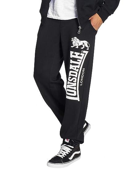 Lonsdale London Ockle Pantalones de Deporte Negro XXL: Amazon.es ...
