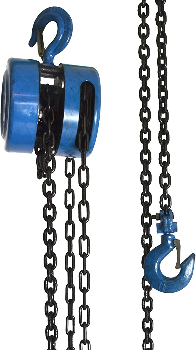 Heavy Duty Chain Block and Tackle with Bag 0.5 Ton 3 Metre