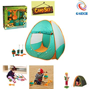 G4RCE® Kids Tent Camping Toys Set Outdoor Beach Game Adventure Kid