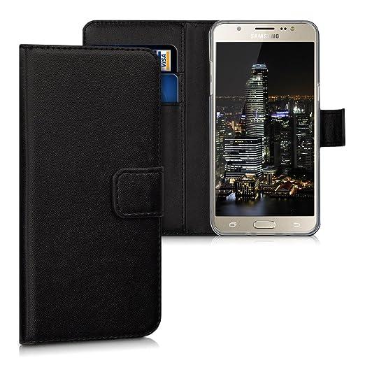 2 opinioni per kwmobile Custodia portafoglio per Samsung Galaxy J5 (2016) DUOS- Cover a libro