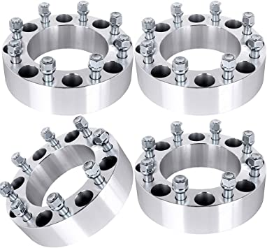 ECCPP 50mm Wheel Spacer Adapters 8 Lug 2 inch 8x170mm Compatible with Ford Excursion F-250 F-350 Super Duty with 14x1.5 Studs