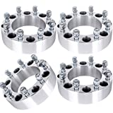 """ECCPP 8x170 Wheel Spacers 8 LUG 2"""" (50mm) 8x170mm to 8X170mm 125mm fits for fo-rd Excursion for fo-rd F250 for fo-rd F350 with 14x1.5 STUDS"""