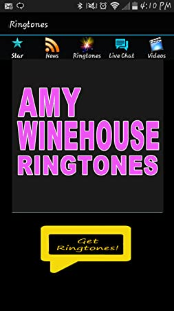 Amy winehouse ringtones free download.