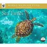 2018 Sea Turtles WWF Wall Calendar