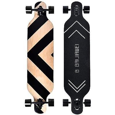 Complete Skateboard Longboard Drop Through 41 Inch Maple Deck Cruiser Downhill