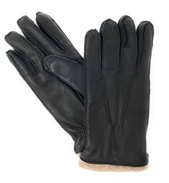 d7174ac6736 The Mens Store Bloomingdales Italian Leather and Cashmere Gloves ...