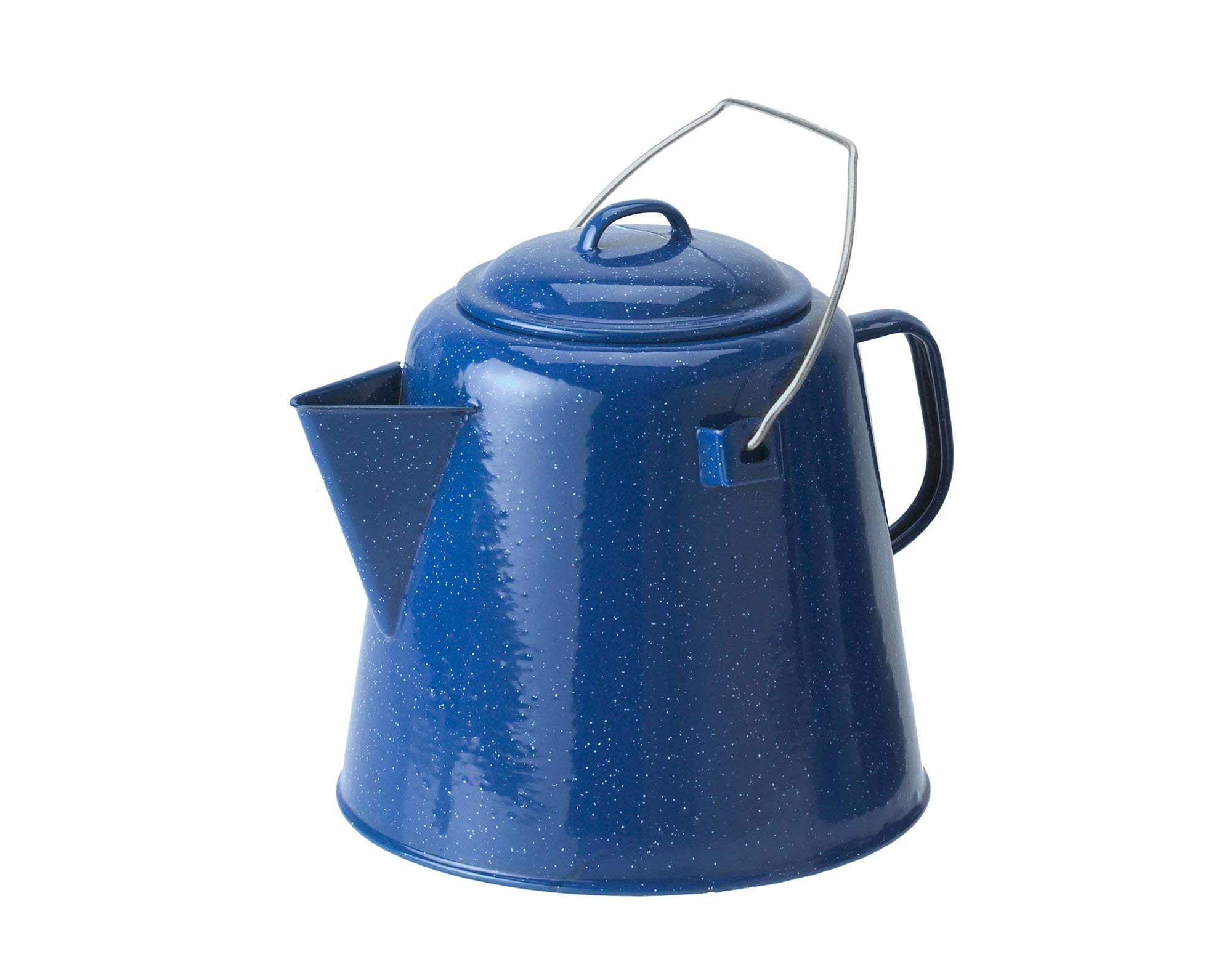 GSI Outdoors 20 Cup Coffee Boiler, Blue (Renewed) by GSI Outdoors