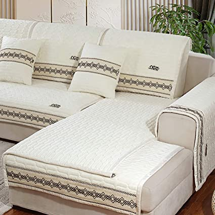 Strange Amazon Com Msm Quilted Sofa Covers Winter Thicken Warm Gmtry Best Dining Table And Chair Ideas Images Gmtryco