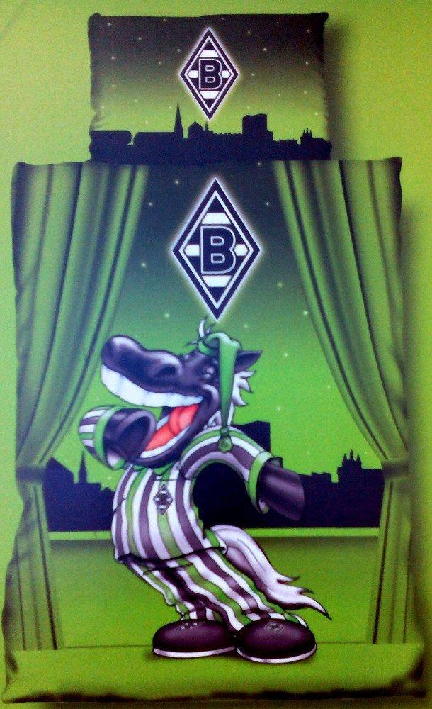 Bertels 1/051383 Borussia Mönchengladbach Bettwäsche Linon Jünter Kids