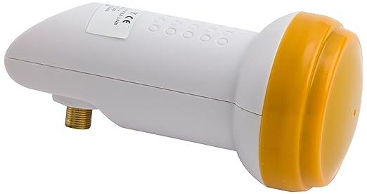 2 opinioni per Golden Media- Blocco convertitore universale LNB singolo, ad alto guadagno,