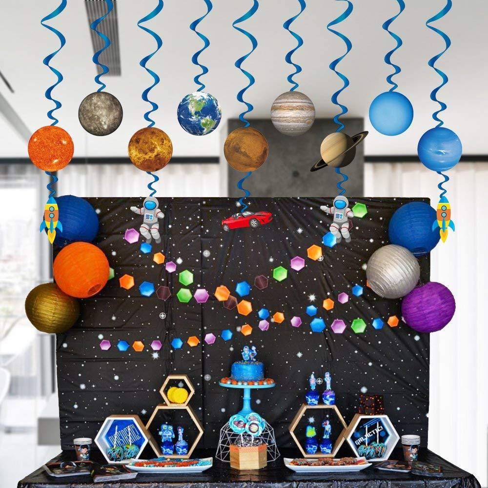 Sistema Solar Decoración Colgante Remolinos (30Piecs), Bebés ...