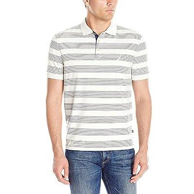 Nautica Mens' Short Sleeve Cotton Polo