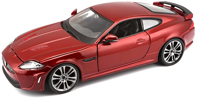 Bburago 1:24 Scale Jaguar XKR S Diecast Vehicle (Colors May Vary)