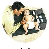 URAQT - Cambiador Bebe Portatil para Cambiar de Pañales o Ropa al Bebé - Para Llevar las Cositas del Bebé en Todo Momento