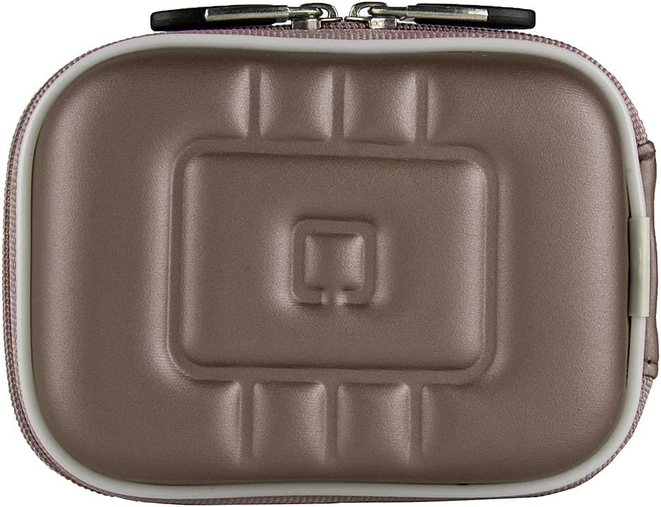 Satin Gray Transit Case for Compact Canon Powershot Cameras Easy Access