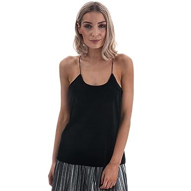fa812bd1346b9f Vero Moda Womens Jenny Velvet Strappy Top in Black  Vero Moda   Amazon.co.uk  Clothing