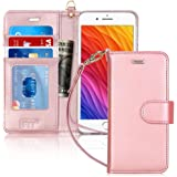 FYY Luxury PU Leather Wallet Case for iPhone 6 Plus/6s Plus, [Kickstand Feature] Flip Phone Case Protective Cover with [Card