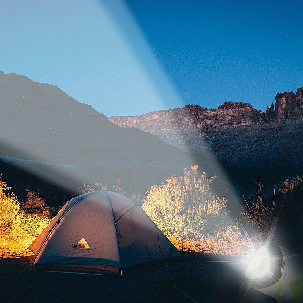 Yifone Lanterne de Camping LED USB Rechargeable color/é Camping LED Lampe de Poche Eau r/ésistant lumi/ère Batterie Powered Lampe Accueil Plein air randonn/ée p/êche d/'Urgence randonn/ée p/êche pannes