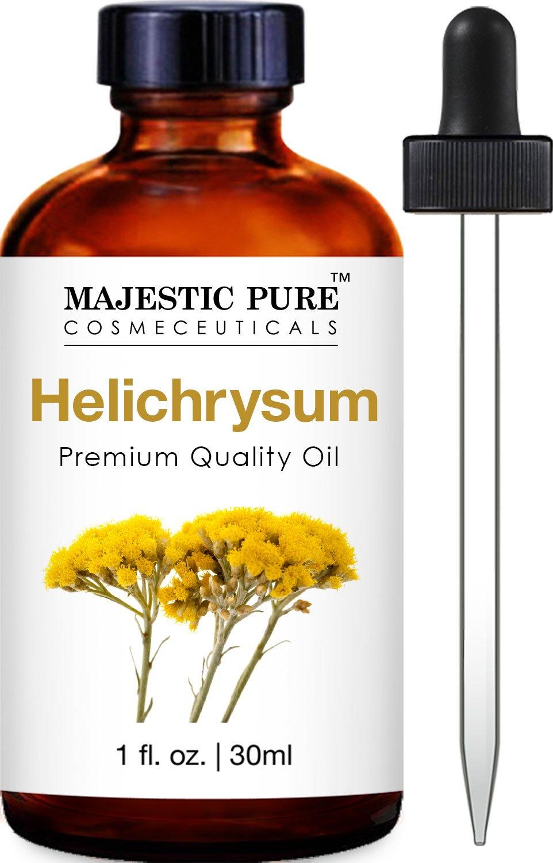 Majestic Pure Helichrysum Oil, Premium Quality, 1 fl Oz