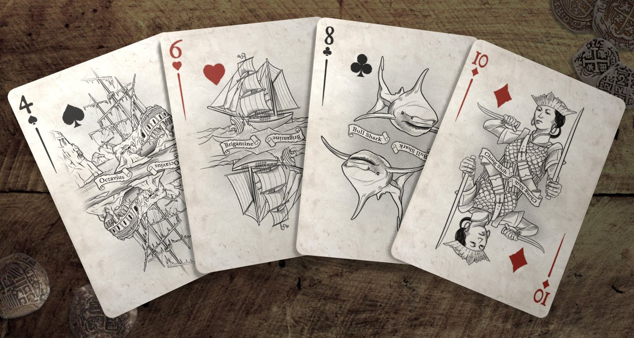 Brain Vessel Cargo Master Collection, Set of 4 Playing Card Decks by Brain Vessel Cargo (Image #3)
