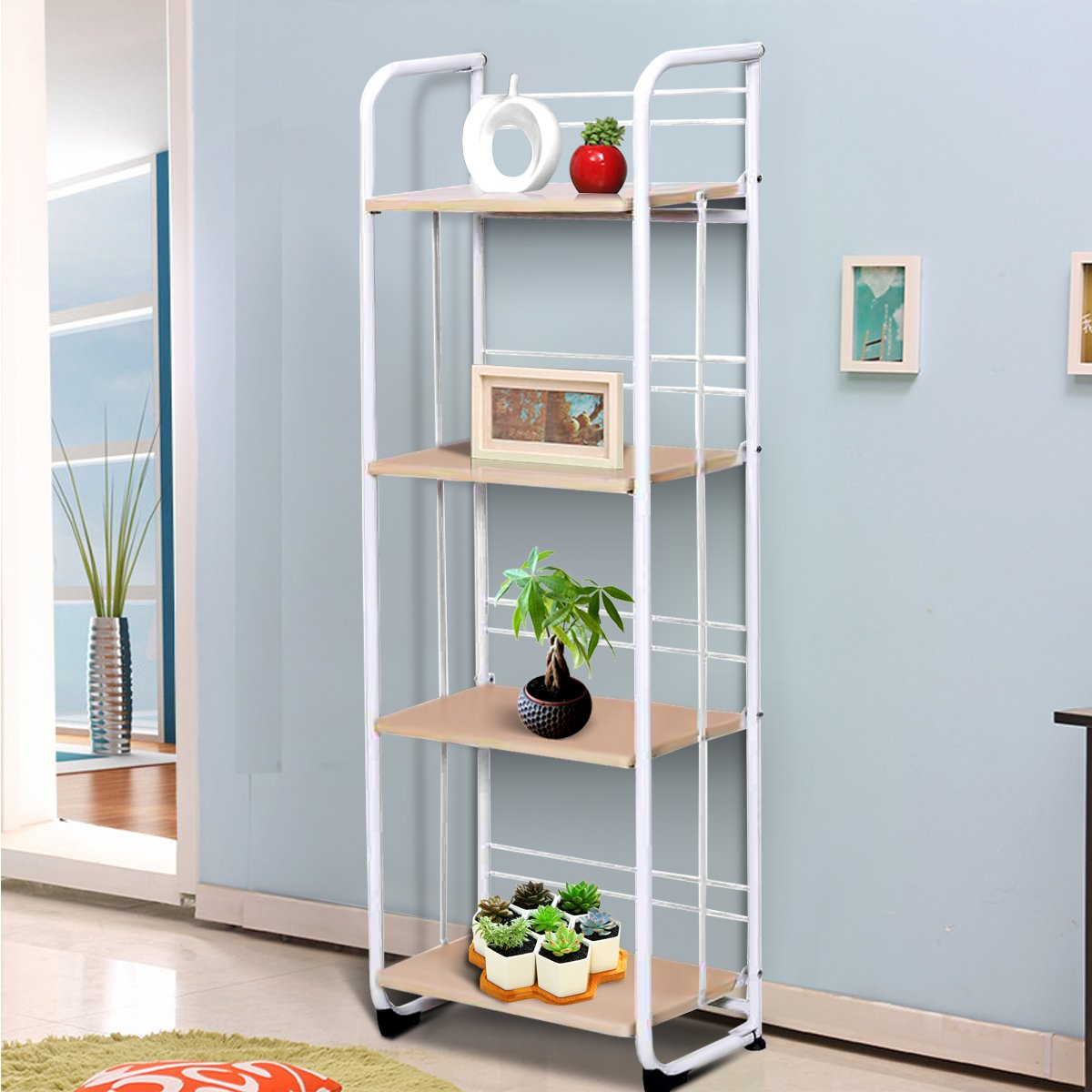 Rack Organiser Kitchen Trolley Storage Living Room Unit Bathroom ...