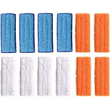 Aiweijia 12 Packs Washable Mopping Pads Accessories for iRobot Braava Jet 240 241 245