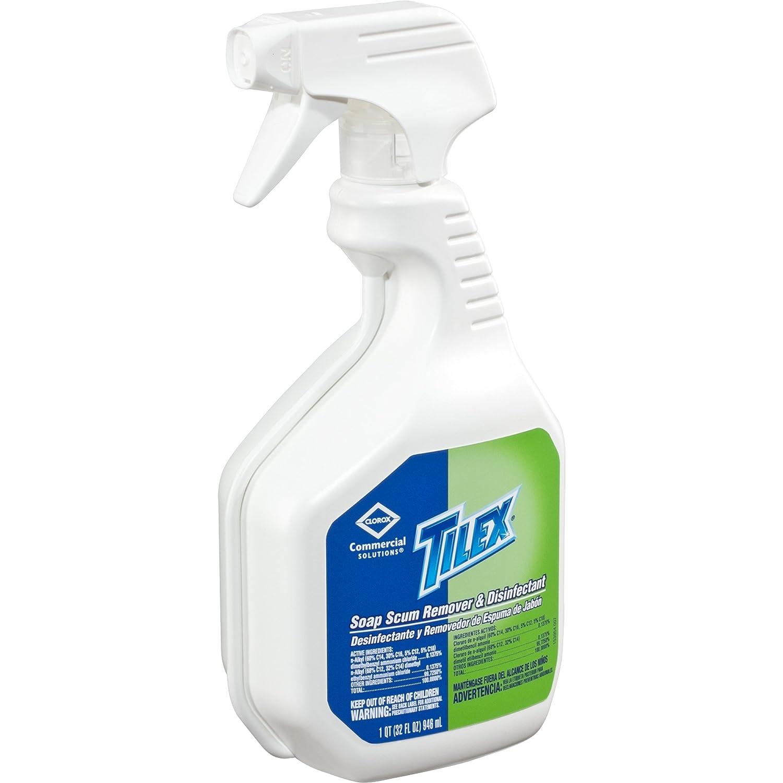 Amazon.com: Tilex Soap Scum Remover & Disinfectant, Spray, 32 Ounces ...