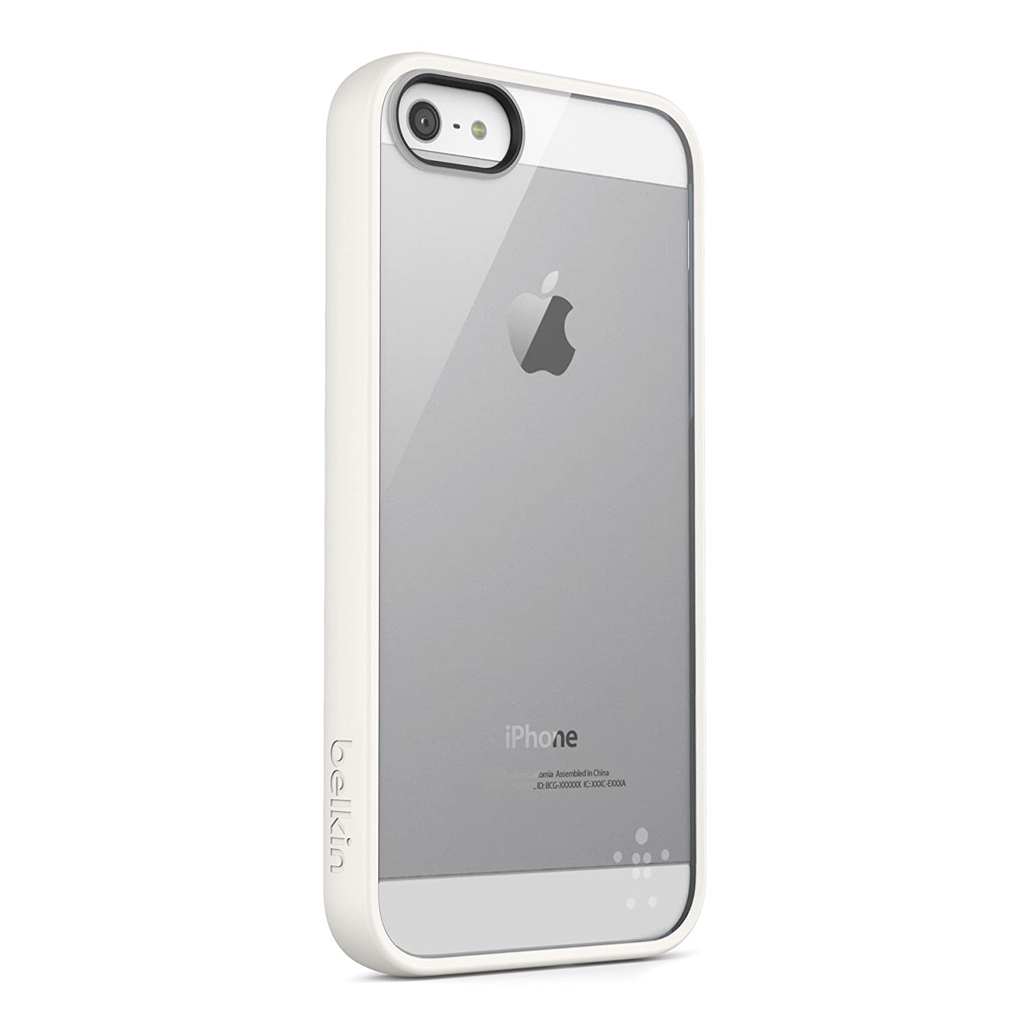 Amazon.com: Belkin View Case for iPhone 5 / 5S and iPhone SE (White ...