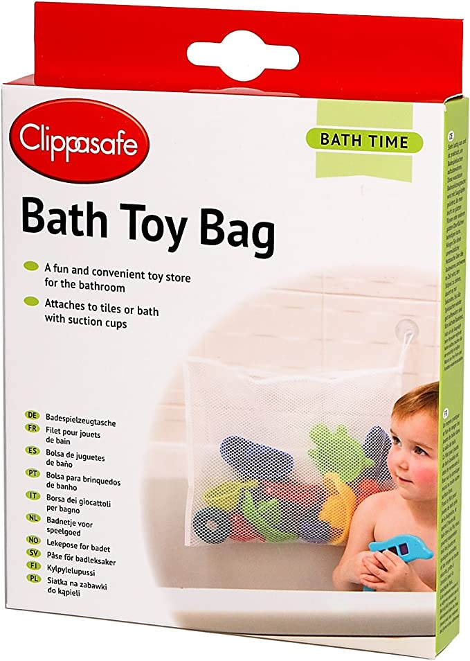 Clippasafe - Bolsa porta juguetes para baño: Amazon.es: Bebé