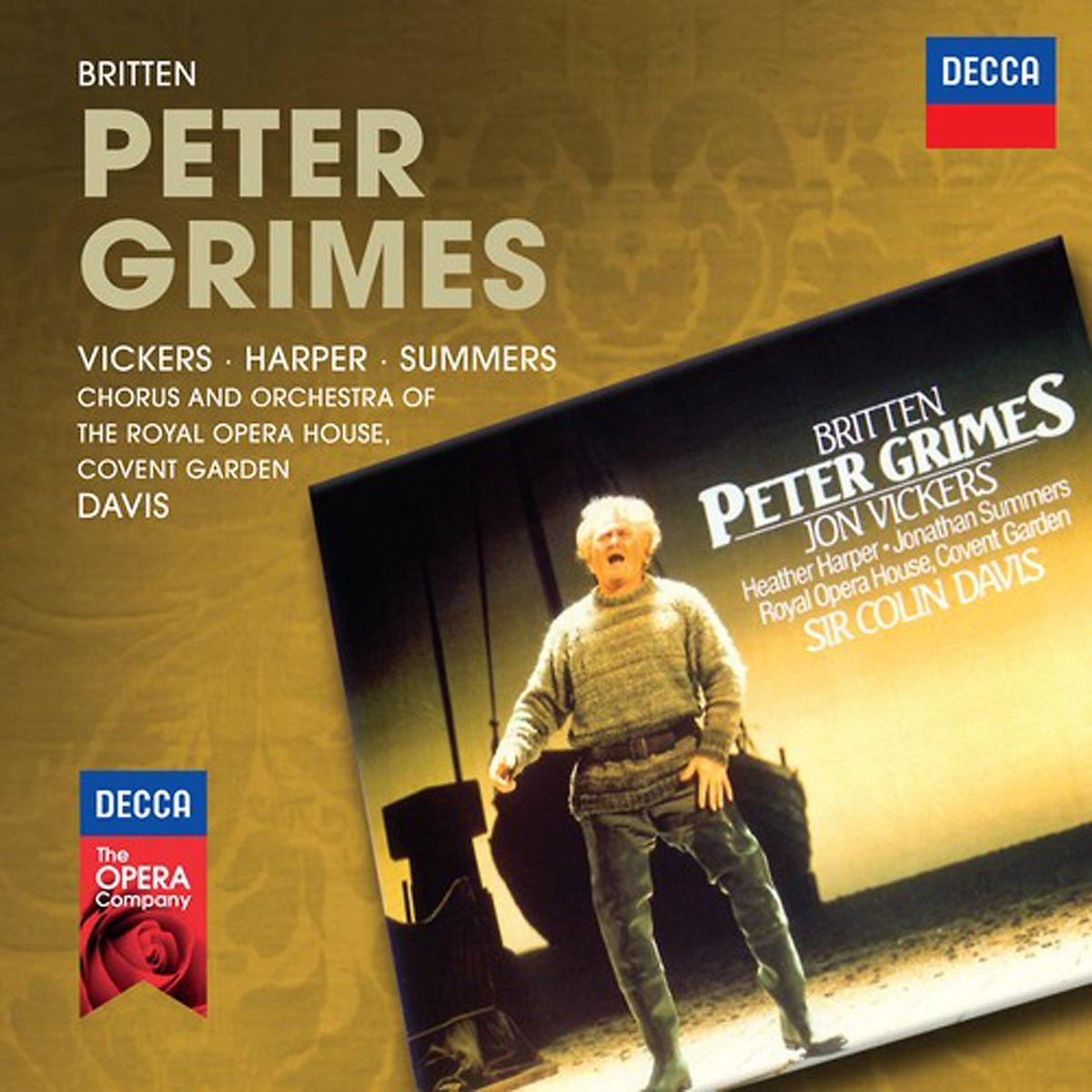 Jon Vickers, Heather Harper, Jonathan Summers, Benjamin Britten, Sir ...
