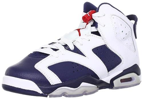 Air Jordan 6 Retro (gs) 'Olympic 2012 Release' - 384665-130 - Size 4.5 OaosZdp