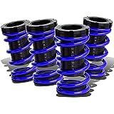 DNA Motoring COIL-HC88-T44-BL Kit de bobina de suspensión azul para Honda CRX/Civic/Del Sol/Acura Integra 88-00