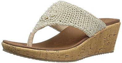 b8aa78db0b5b Skechers Cali Women s Beverlee Wedge Sandal