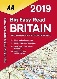 Big Easy Read Britain 2020 Paperback (AA Road Atlas Britain): Amazon