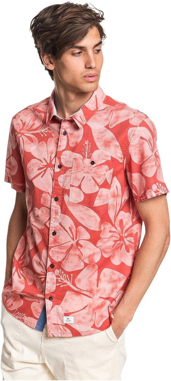 Quiksilver Sable Dor - Camisa de Manga Corta para Hombre EQYWT03998: Amazon.es: Ropa y accesorios