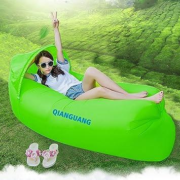 QG® Original diseño 0,9 kg portátil rápido inflable sofá/cama ...